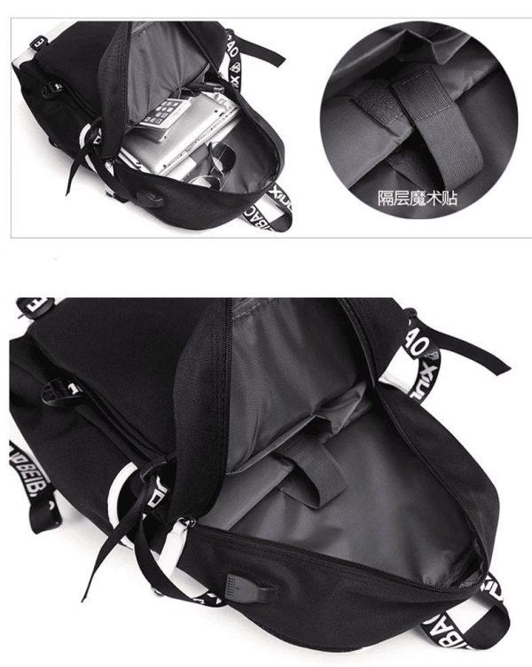 Dragon Ball Super Goku Black Evil Grin Backpack Bag