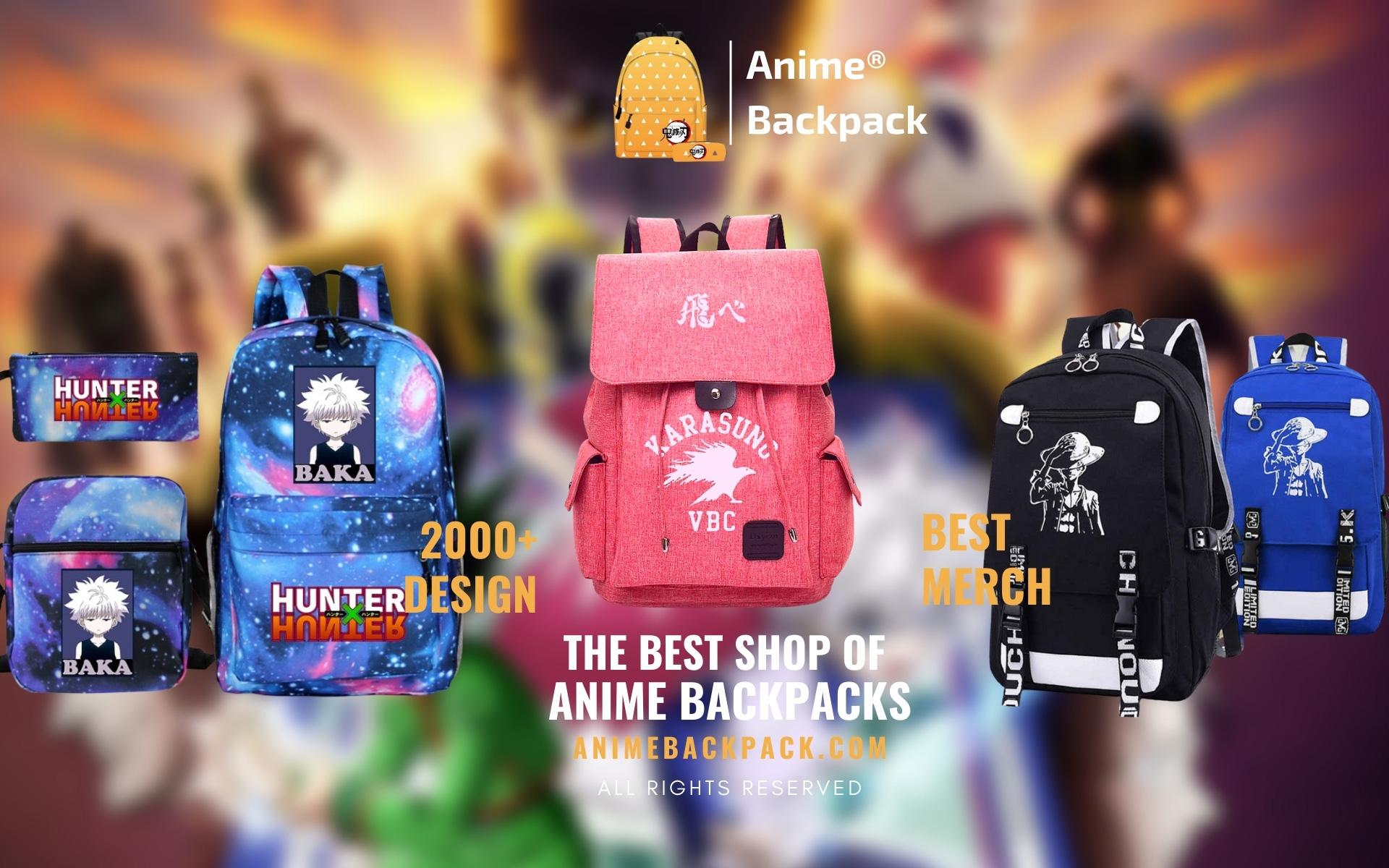 Anime Backpack Web Banner - Anime Backpacks