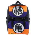 DBZ Son Goku & Master Roshi Kanji Symbol Travel Backpack