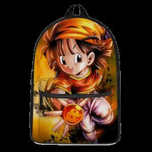 DBZ Adorable Pan Holding A Dragon Ball Cool Backpack - Saiyan Stuff