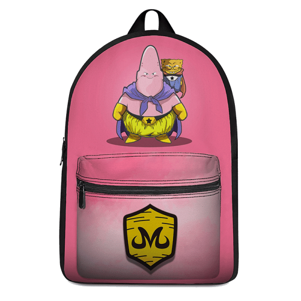 DBZ Patrick Spongebob Parody Fat Buu Babidi Cute Pink Backpack - Saiyan Stuff