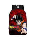 DBZ Goku Attack Poster Style Printed School Backpack Bag - Saiyan Stuff