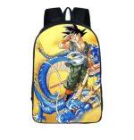 DBZ Goku Blue Shenron Fan Art Anime School Backpack Bag - Saiyan Stuff