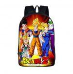 DBZ Goku Vegeta Poster Style Awesome School Backpack Bag - Saiyan Stuff