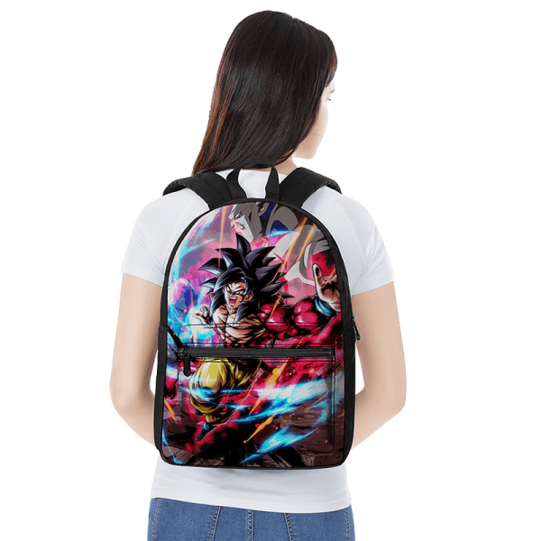 Dragon Ball GT Super Full Power Goku 4 Omega Shenron Backpack - Saiyan Stuff