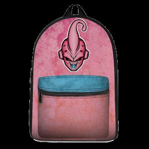Dragon Ball Kid Buu Majestic Vector Artwork Pink Blue Backpack - Saiyan Stuff