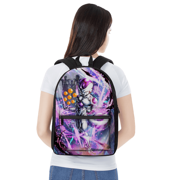 Dragon Ball Legends Frieza Awesome Artwork Backpack - Saiyan Stuff