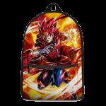 Dragon Ball Legends Giblet The Saiyan In Red Wonderful Backpack - Saiyan Stuff