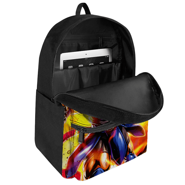 Dragon Ball Legends Shallot Super Saiyan God Epic Canvas Backpack - Saiyan Stuff