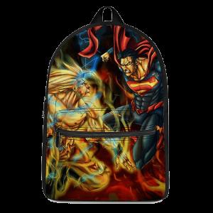 Dragon Ball Son Goku Versus Superman Fantastic Backpack - Saiyan Stuff