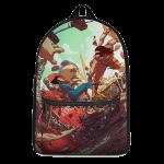 Dragon Ball Son Goku Versus Vegeta Saiyan Battle Dope Backpack - Saiyan Stuff