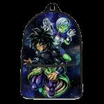 Dragon Ball Super Broly Cheelai Awesome Art Canvas Backpack - Saiyan Stuff