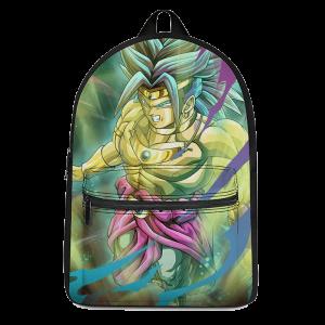 Dragon Ball Super Legendary Broly Fantastic Canvas Backpack - Saiyan Stuff