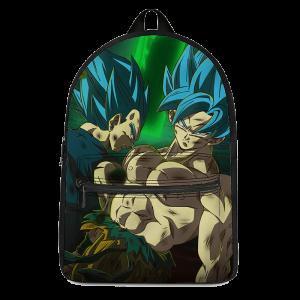 Dragon Ball Super Saiyan Blue Son Goku Vegeta Badass Backpack - Saiyan Stuff