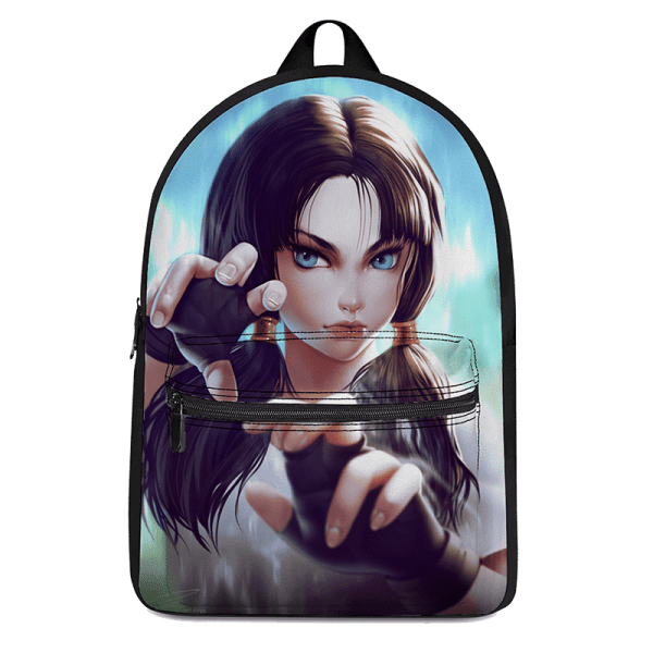 Dragon Ball Z Beautiful Videl Fantastic Artwork Canvas Backpack - Saiyan Stuff