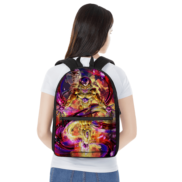 Dragon Ball Z Golden Frieza All Charged Up Awesome Backpack - Saiyan Stuff