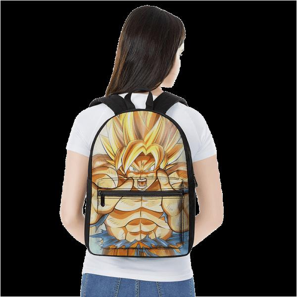 Dragon Ball Z Kakarot SSJ2 Wonderful Art Canvas Backpack - Saiyan Stuff