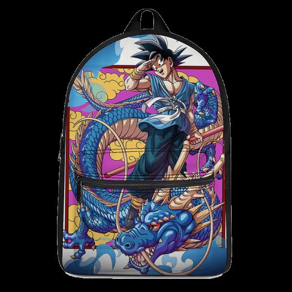 Dragon Ball Z Kakarot With Blue Shenron Awesome Backpack - Saiyan Stuff