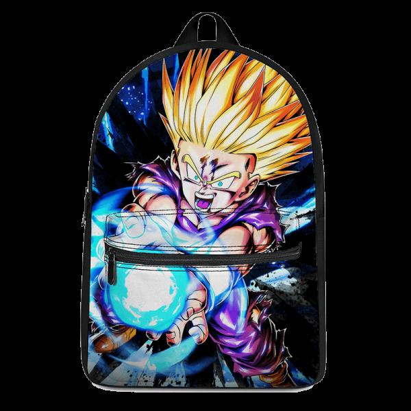 Dragon Ball Z Kid Gohan SSJ2 Cool Awesome Backpack - Saiyan Stuff