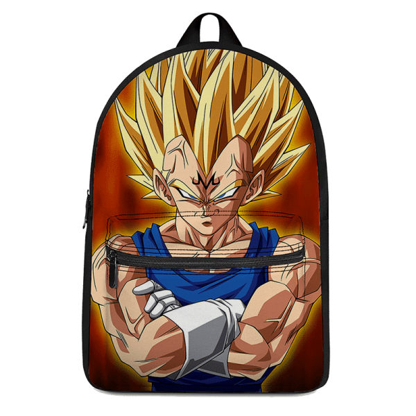 Dragon Ball Z Majin Vegeta Super Saiyan Dope Backpack - Saiyan Stuff