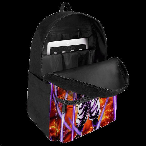 Dragon Ball Z Super Buu Explosive Artwork Dope Canvas Backpack - Saiyan Stuff