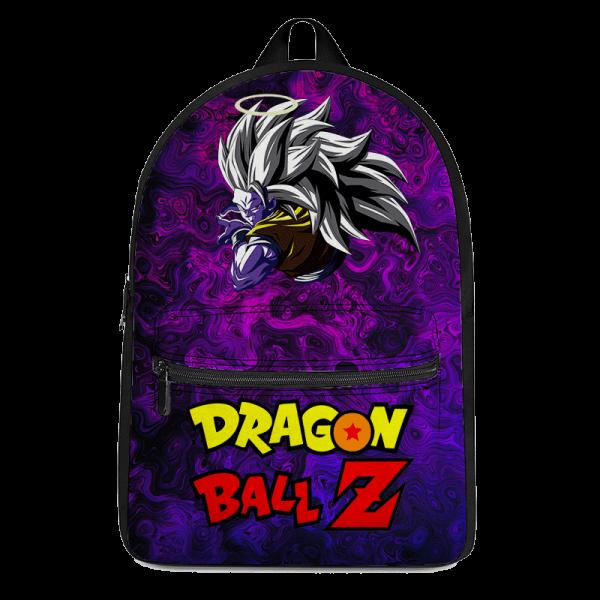 Dragon Ball Z Trippy Universe Goku SSJ3 Awesome Purple Backpack - Saiyan Stuff