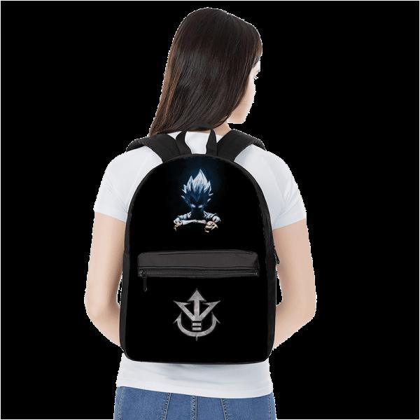 Dragon Ball Z Vegeta SSGSS Saiyan Family Crest Awesome Backpack - Saiyan Stuff