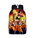 Dragon Ball Goku SSJ Transformation Dope School Backpack Bag - Saiyan Stuff