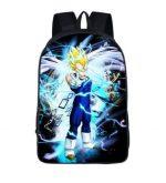 Dragon Ball Majin Vegeta Saiyan Prince School Backpack Bag - Saiyan Stuff