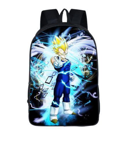 Dragon Ball Majin Vegeta Saiyan Prince School Backpack Bag
