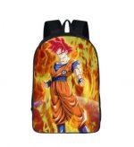 Dragon Ball Super Goku Saiyan SSJ God School Backpack Bag - Saiyan Stuff
