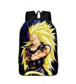 Dragon Ball Vegeta SSJ3 Rock Star Style School Backpack Bag - Saiyan Stuff
