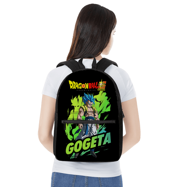 Perfect Saiyan Blue Gogeta Broly Aura Dragon Ball Super Backpack - Saiyan Stuff