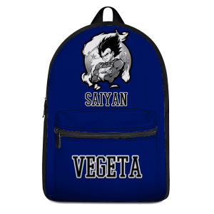 Super Saiyan Vegeta Awesome Dragon Ball Z Blue Backpack - Saiyan Stuff