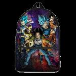 Team Universe 7 Teamwork Dragon Ball Super Galaxy Backpack - Saiyan Stuff