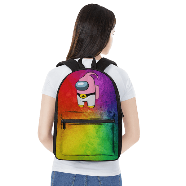 Dragon Ball Among Us Majin Buu Parody Cute Backpack - Saiyan Stuff
