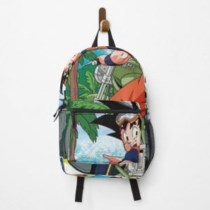 Goku Touring Backpack RB0605 product Offical Anime Backpacks Merch