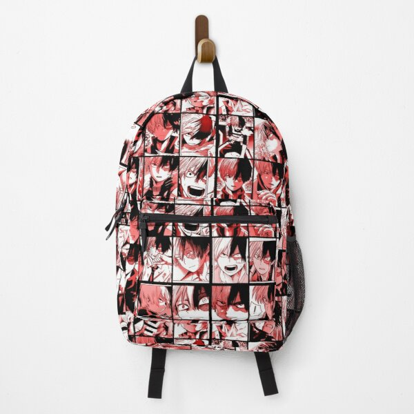 Todoroki shoto collage Backpack RB0605 product Offical Anime Backpacks Merch