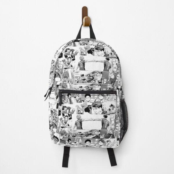 Haikyuu !! (Manga collage) Backpack RB0605 product Offical Anime Backpacks Merch