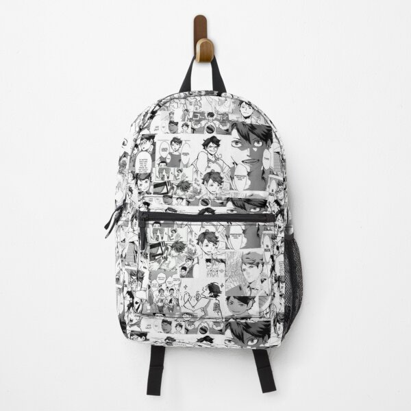 Oikawa manga collage  Backpack RB0605 product Offical Anime Backpacks Merch