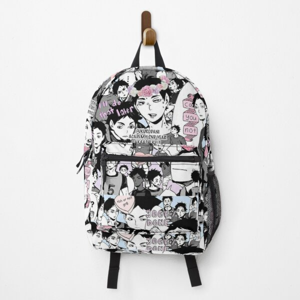 Haikyuu cool collage Backpack RB0605 product Offical Anime Backpacks Merch