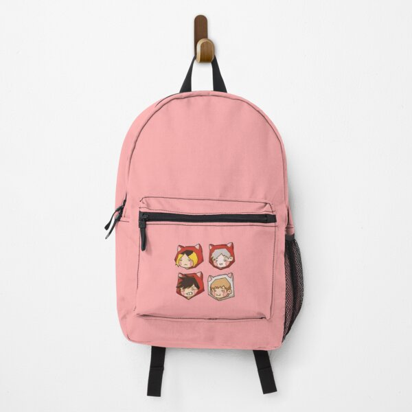 Nekoma Backpack RB0605 product Offical Anime Backpacks Merch