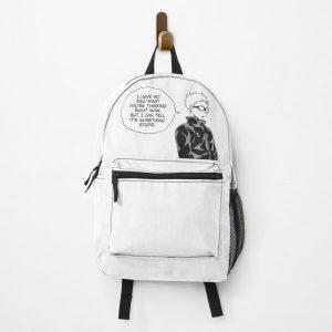 Tsukkishima Haikyuu Manga Cap Backpack RB0605 product Offical Anime Backpacks Merch
