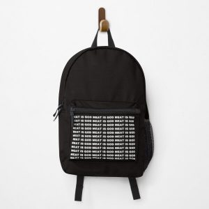 Haikyuu Meat is God - white Backpack RB0605 product Offical Anime Backpacks Merch