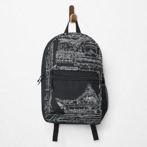 Japanese Onsen Bathhouse Backpack RB0605 product Offical Anime Backpacks Merch