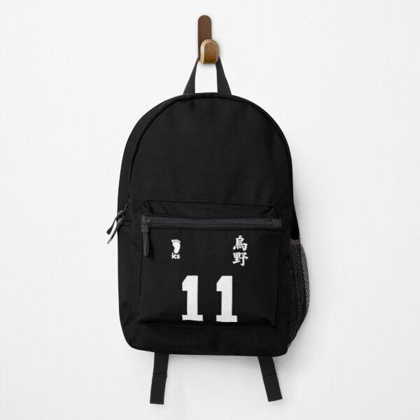 Haikyuu Karasuno Tsukishima Jersey Backpack RB0605 product Offical Anime Backpacks Merch