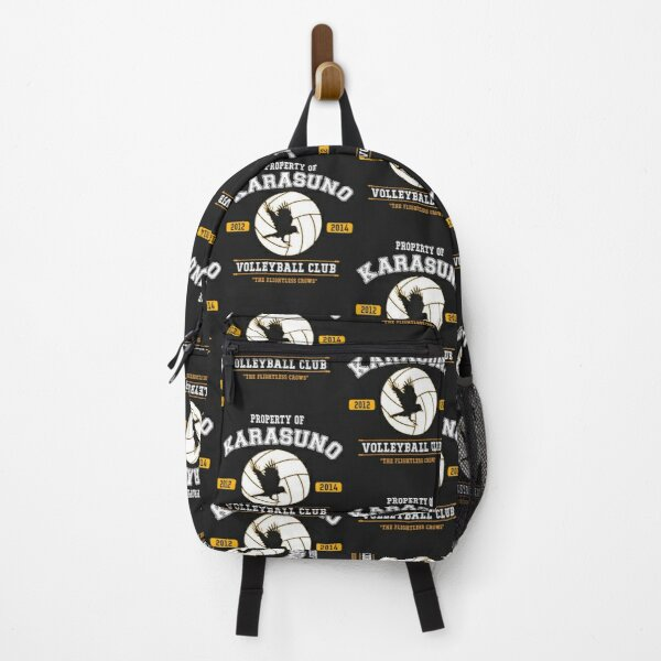 Property of Karasuno Volleyball Club Haikyuu Backpack RB0605 product Offical Anime Backpacks Merch