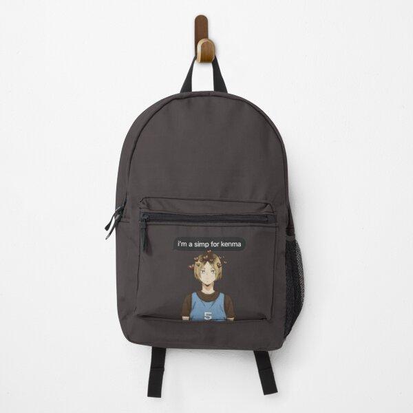 Haikyuu Kenma Kozume Themed Design/ Simp Anime Boy  Backpack RB0605 product Offical Anime Backpacks Merch