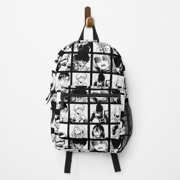 My Hero Academia Manga Design Backpack RB0605 product Offical Anime Backpacks Merch