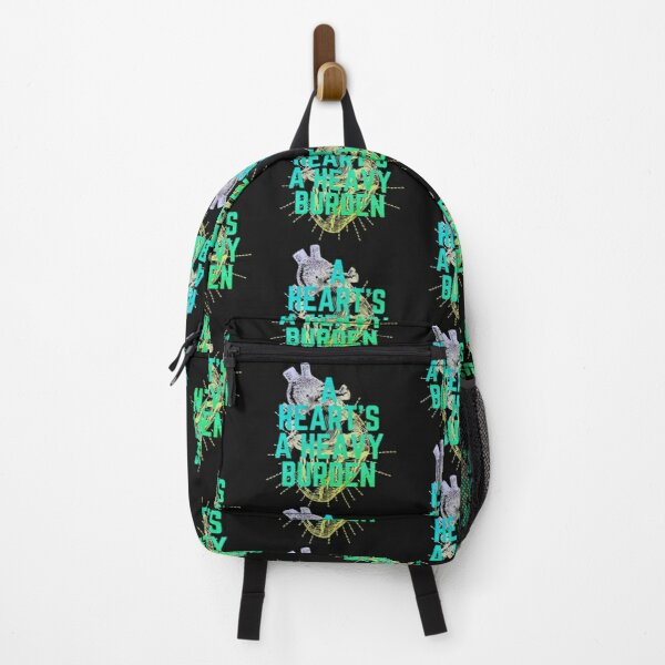 A heart is a heavy burden Green Edition Backpack RB0605 product Offical Anime Backpacks Merch
